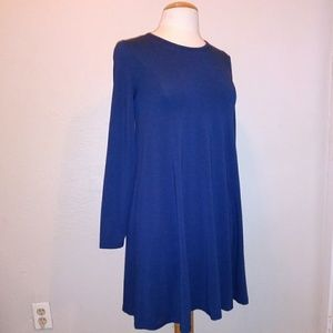 Madewell Blue Flowy Dress